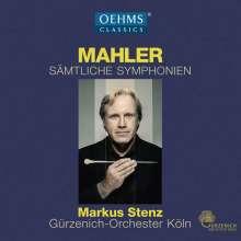 Gustav Mahler (1860-1911): Symphonien Nr.1-10, 13 CDs