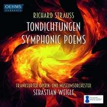 Richard Strauss (1864-1949): Sämtliche Tondichtungen, 6 CDs