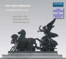 Franz Anton Hoffmeister (1754-1812): Violakonzerte D-Dur & B-Dur (inkl.Sampler und Oehms-Gesamtkatalog 2016), 2 CDs