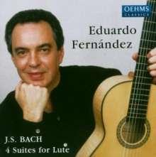 Johann Sebastian Bach (1685-1750): Lautenwerke BWV 995-997,1006a, CD
