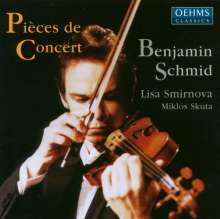 Benjamin Schmid - Pieces de Concert, CD