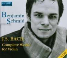 Johann Sebastian Bach (1685-1750): Violinkonzerte BWV 1041-1043, 5 CDs