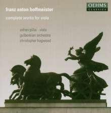 Franz Anton Hoffmeister (1754-1812): Violakonzerte D-Dur & B-Dur, CD