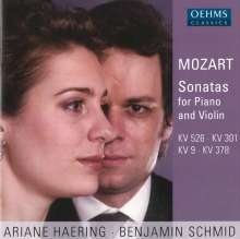 Wolfgang Amadeus Mozart (1756-1791): Sonaten für Violine & Klavier, CD
