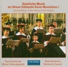 Geistliche Musik der Wiener Hofkapelle Kaiser Maximilian I, CD