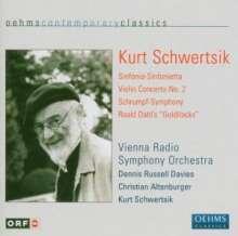 Kurt Schwertsik (geb. 1935): Schrumpf-Symphony, CD