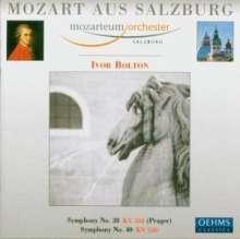 Wolfgang Amadeus Mozart (1756-1791): Symphonien Nr.38 & 40, CD