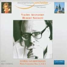 Ludwig van Beethoven (1770-1827): Klavierkonzerte Nr.1,2,4, 2 CDs