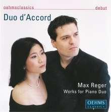 Max Reger (1873-1916): Werke für Klavier 4-händig, CD