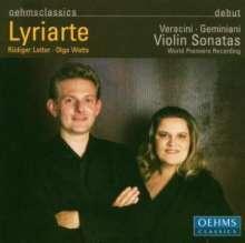 Francesco Geminiani (1687-1762): Sonaten für Violine & Cembalo op.4 Nr.1,8-10, CD