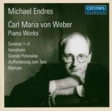 Carl Maria von Weber (1786-1826): Klaviersonaten Nr.1-4, 2 CDs