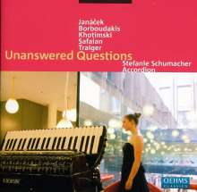 Stefanie Schumacher - Unanswered Questions, CD