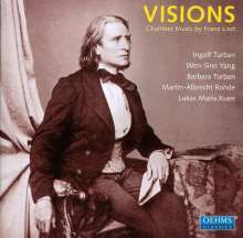"Franz Liszt (1811-1886): Kammermusik - ""Visions"", CD"