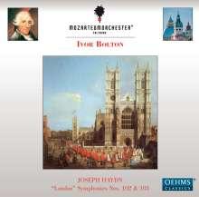 Joseph Haydn (1732-1809): Symphonien Nr.102 & 103, CD