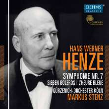 Hans Werner Henze (1926-2012): Symphonie Nr.7, CD
