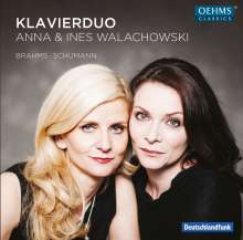 Klavierduo Anna & Ines Walachowski - Brahms / Schumann, CD
