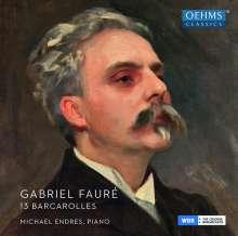 Gabriel Faure (1845-1924): Barcarolles Nr.1-13, CD