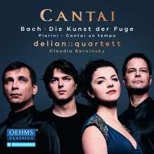 Delian::Quartett - Cantai, 2 CDs
