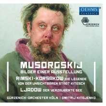 Modest Mussorgsky (1839-1881): Bilder einer Ausstellung (Orchesterfassung), CD