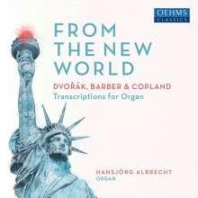 Hansjörg Albrecht - From the New World, CD