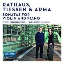 Duo Ingolfsson-Stoupel - Violinsonaten von Exil-Komponisten, CD