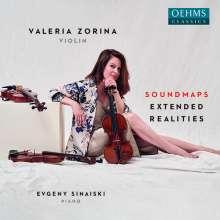 Valeria Zorina - Soundmaps extended Realities, CD