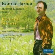 Richard Strauss (1864-1949): Vier letzte Lieder (Klavierfassung von Max Wolff/Ernst Roth), CD