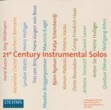 21st Century Instrumental Solos, 2 CDs