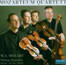Wolfgang Amadeus Mozart (1756-1791): Streichquartette Nr.1,15,19, CD