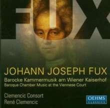 Johann Joseph Fux (1660-1741): 2 Ouvertüren a 4, CD