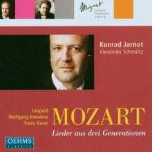 Mozart - Lieder aus drei Generationen, CD