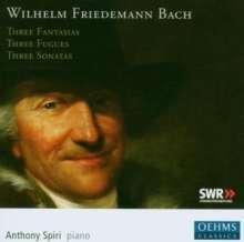 Wilhelm Friedemann Bach (1710-1784): Klavierwerke, CD