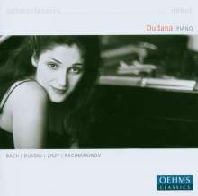 Dudana Mazmanishvili,Klavier, CD