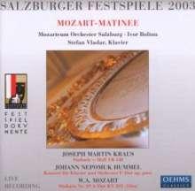 Johann Nepomuk Hummel (1778-1837): Klavierkonzert F-Dur op.posth.Nr.1, CD