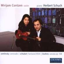 Mirijam Contzen,Violine, CD