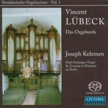 Vincent Lübeck (1654-1740): Sämtliche Orgelwerke, SACD