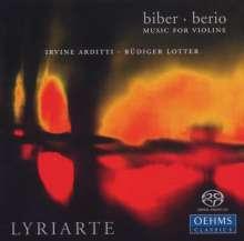 Heinrich Ignaz Biber (1644-1704): Violinsonaten Nr.3,5,6, Super Audio CD