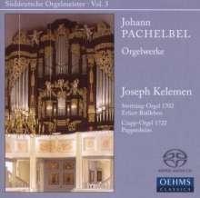 Johann Pachelbel (1653-1706): Orgelwerke, Super Audio CD