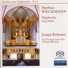 Matthias Weckmann (1619-1674): Orgelwerke, SACD