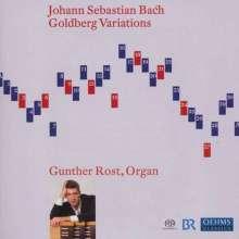 Johann Sebastian Bach (1685-1750): Goldberg-Variationen BWV 988 für Orgel, Super Audio CD