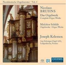 Nicolaus Bruhns (1665-1697): Sämtliche Orgelwerke, SACD