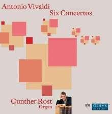 Gunther Rost - Orgelkonzerte nach Vivaldi, SACD