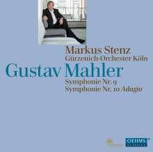 Gustav Mahler (1860-1911): Symphonien Nr.9 & 10 (Adagio), 2 SACDs