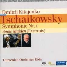 "Peter Iljitsch Tschaikowsky (1840-1893): Symphonie Nr.1 ""Winterträume"", SACD"