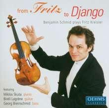 """Fritz Kreisler (1875-1962): Werke für Violine & Klavier """"From Fritz to Django"""", CD"""