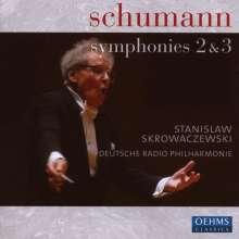 Robert Schumann (1810-1856): Symphonien Nr.2 & 3, CD