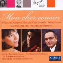 Johanna Doderer (geb. 1969): Mon Cher Cousin DWV 49 für Sopran & Orchester, CD