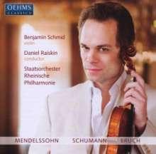 Benjamin Schmid spielt Violinkonzerte, CD