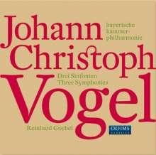 Johann Christoph Vogel (1756-1788): Symphonien Nr.1-3, CD