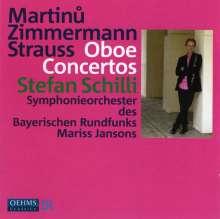 Stefan Schilli - Oboenkonzerte, CD
